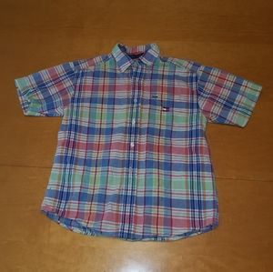 Tommy Hillfiger short sleeve button down.